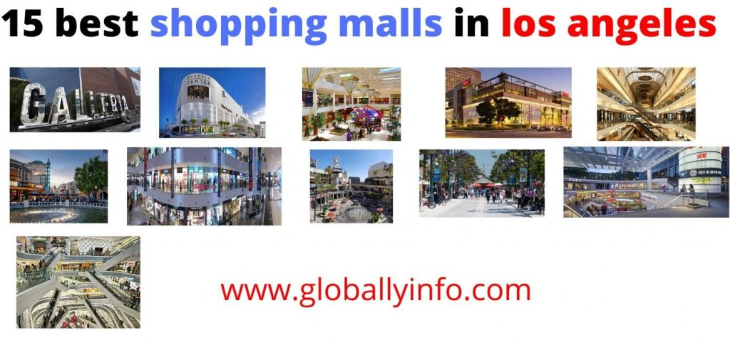 Best Shopping Malls in Los Angeles