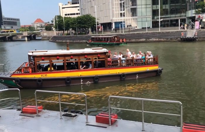 image result for singapore bumboat ride