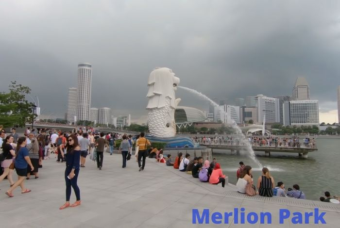 image result for  merlion park