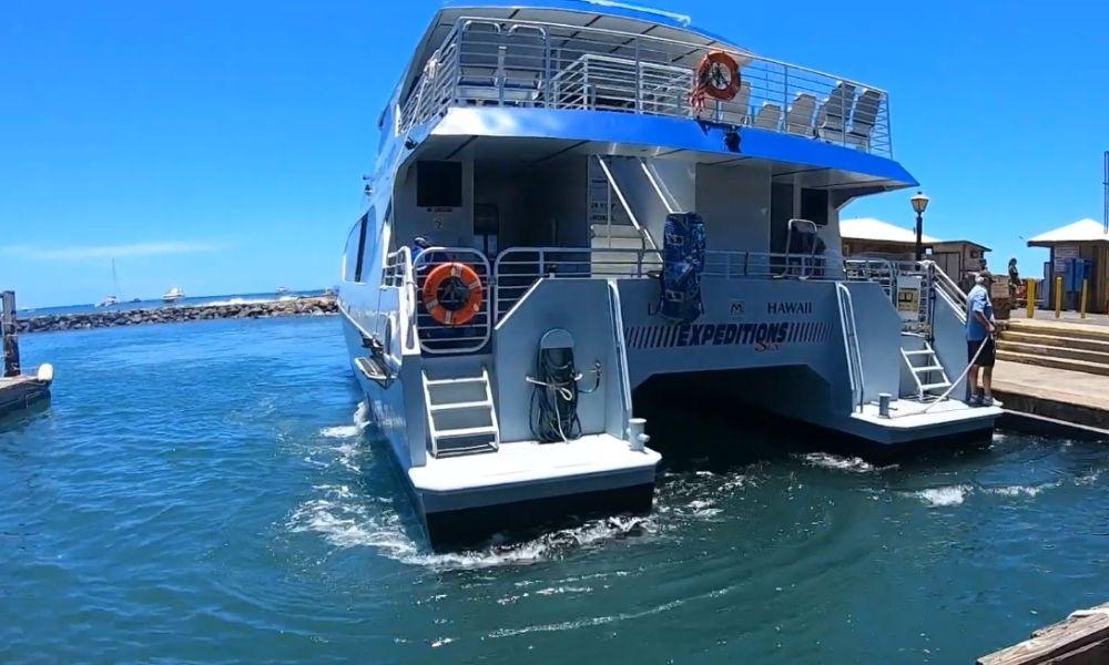 Ferry Maui to Lanai