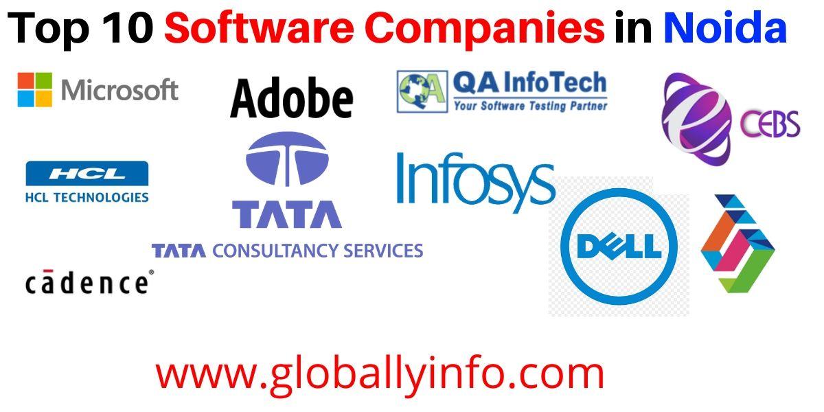 Top Software Companies in Noida