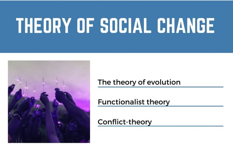 Theory of social change