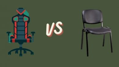 Difference Between Gaming Chair and Office Chair